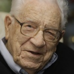 George Beverly Shea in 2009 at age 100