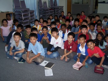 Children hungry for God's Word